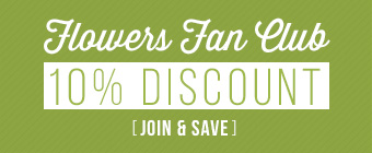 10 Percent discount for member signup