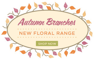 Autumn Branches - New Floral Range by Flowers for Everyone