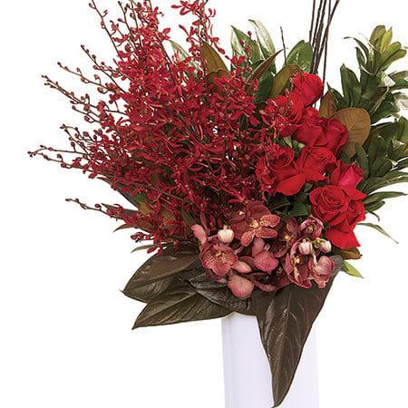 Premium Red Vase
