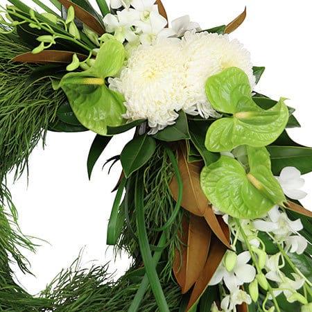 Evergreen Eternity Funeral Wreath Sydney