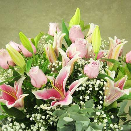 For Opulent Mums Lilies Mothers Day Flowers