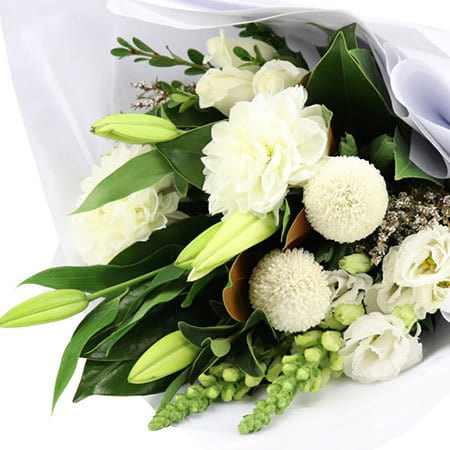 Snowy White Bouquet
