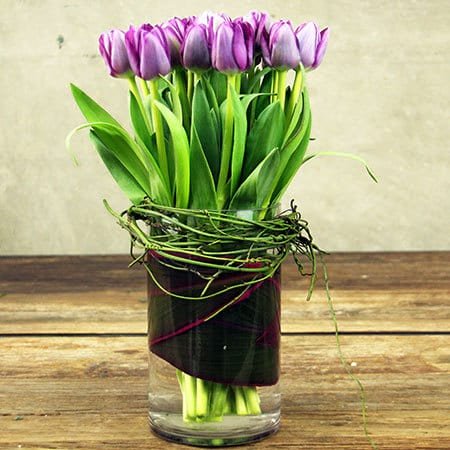 Purple Tulips Delivered Sydney