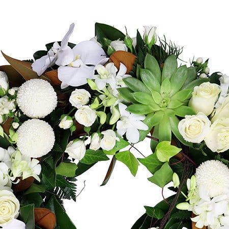Tropical Funeral Wreath Sydney
