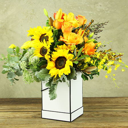 Sunshine Flower Box