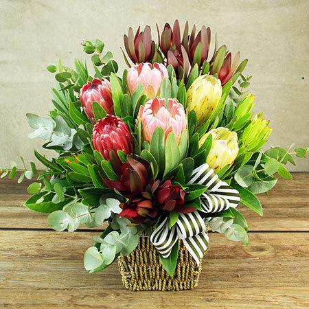 Native Flower Basket