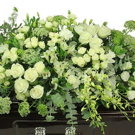 Purely Exquisite Casket Flowers