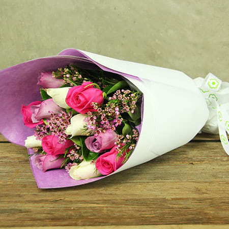 Mixed Rose Bouquet Delivery