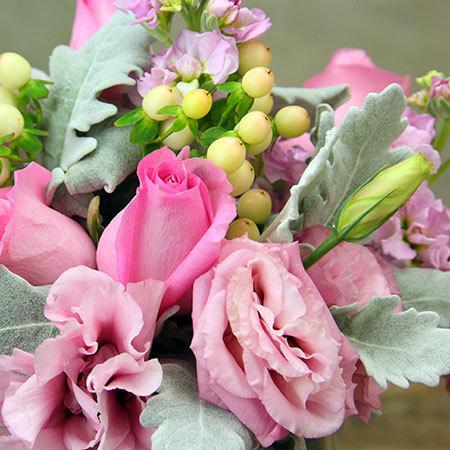 Little Vase of Pink