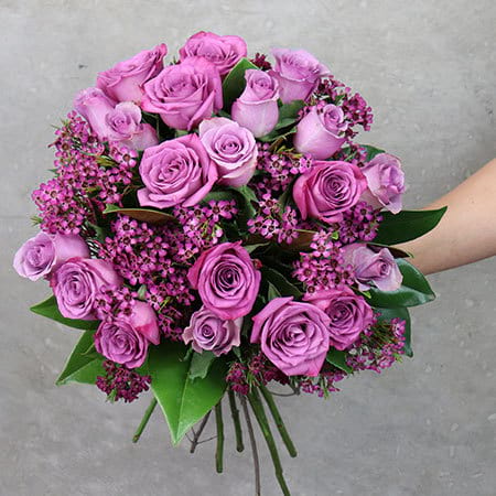 Sugarplum-Rose-Flower-Posy-Delivered