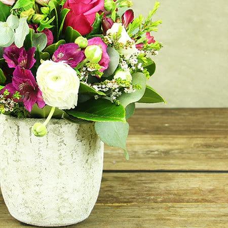 Spring Sophisticate Flower Pot