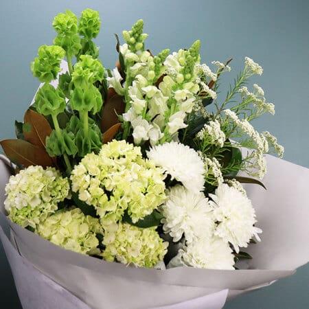 Seasonal White Bouquet