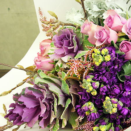 Luscious Purple Springtime Bouquet