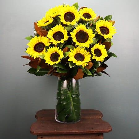 Sunflowers Vase