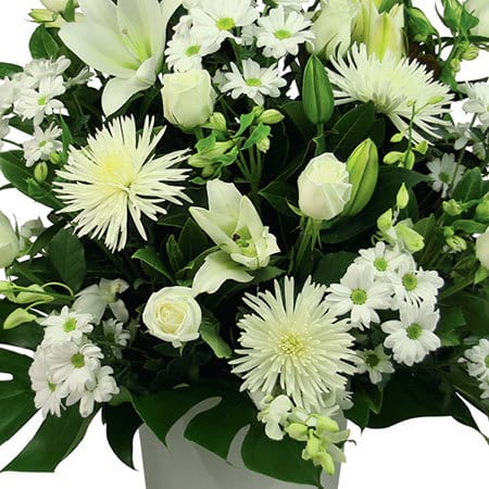 Seasonal White Flowers Sydney Funeral