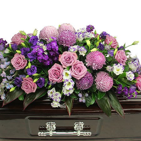 Monet Garden Casket Flowers