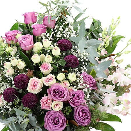 Elegant Pink Floral Arrangement Delivered Sydney