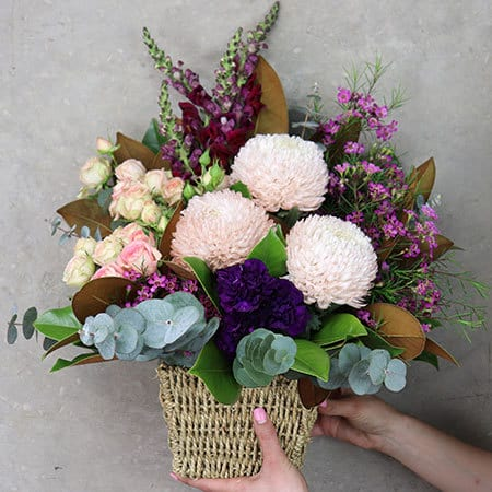 Beautiful Botanic Basket Delivered