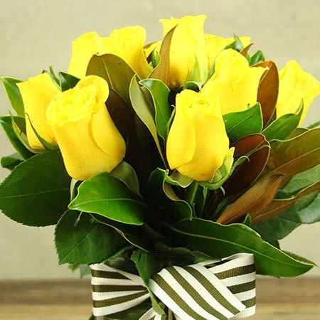 Hello Sunshine Yellow Roses