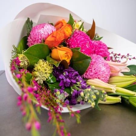 spring cocktail bouquet