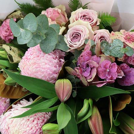 Paris Pink Flower Delivery