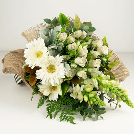 Sweet White Flower Posy
