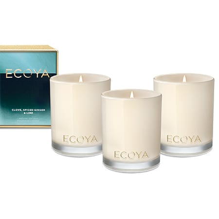 ECOYA Trio Candle Gift Set for Xmas