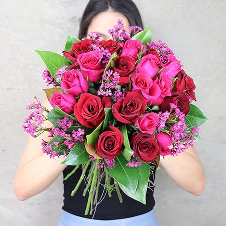 Sweetheart Rose Posy