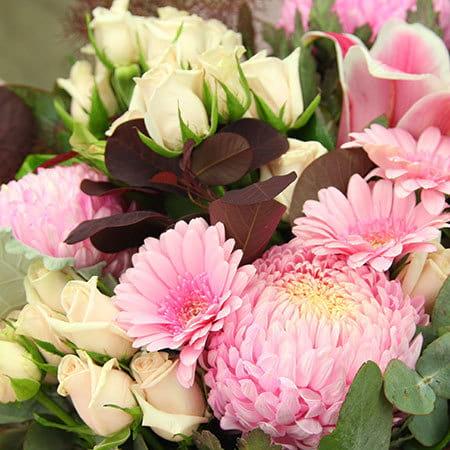 Pink Flowers Delivered