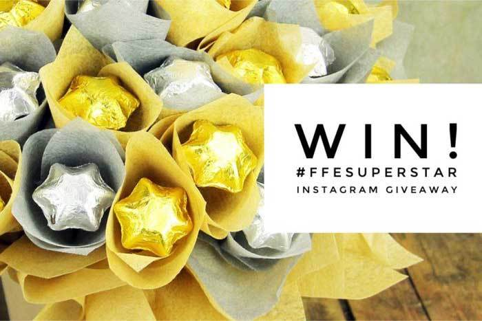 Win! Gift fit for a Super Star – Chocolate Flowers & Bubbles