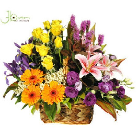 grouped-flower-basket