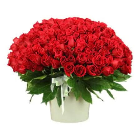 250 Red Rose Arrangement