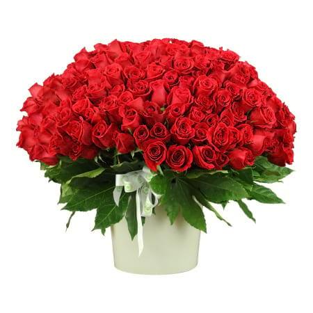 250 Red Rose Arrangement