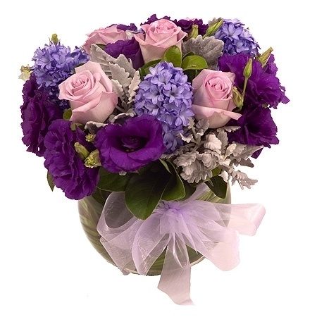 Purple Posy - Flowers Delivered
