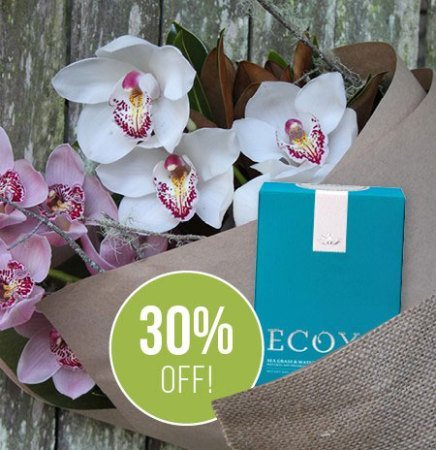 30 Percent Off Orchids & Ecoya Candle (Sydney Only)
