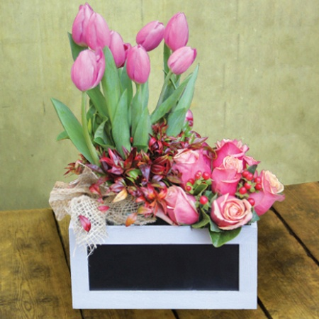 A Good Vintage Flower Arrangement