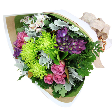 A Sydney Style Christmas Flower Bouquet Delivered