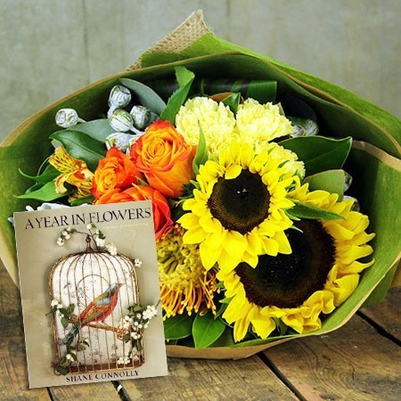 A Year in Flowers Bouquet and Book (Sydney Only)