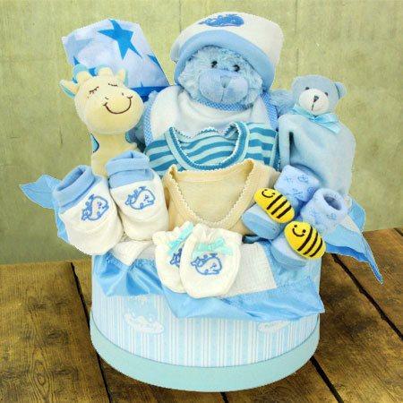 Baby Boy Hamper Large Baby Gift Arrangement