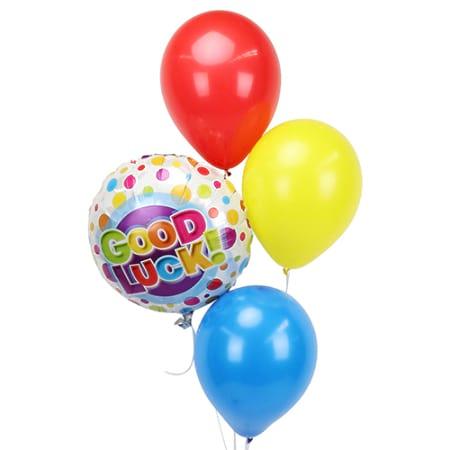 Balloon Bouquet Good Luck