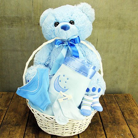 Big Bear Baby Hamper (Blue or Pink)