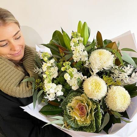 Bloom Peace White Bouquet