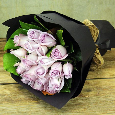 Blue Moon Rose Bouquet (Sydney Only)