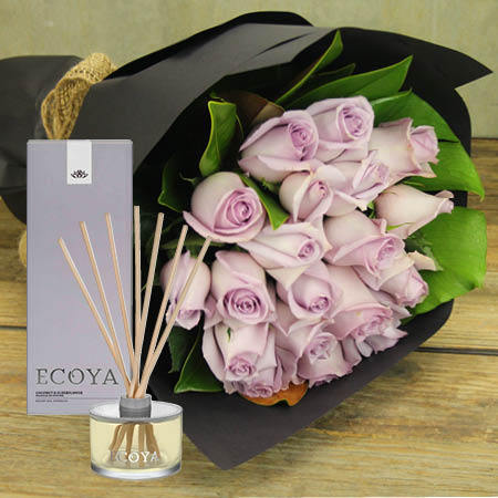 Blue Moon Roses & Reed Diffuser (Sydney Metro Only)