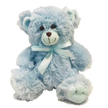 Blue Teddy Bear delivered Sydney 30cm