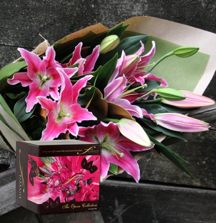Chocolate Easter Lilies