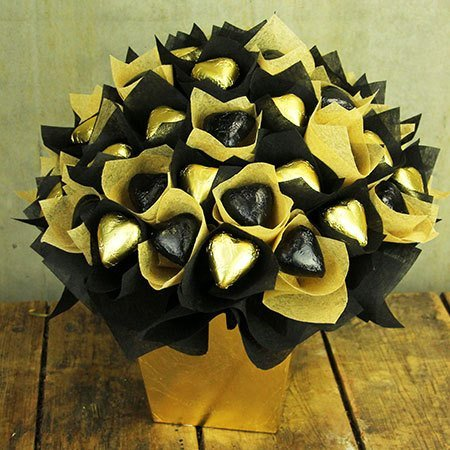 Edible Chocolate Black and Gold