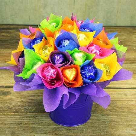 Chocolate Flowers - Willy Wonka Rainbow (Sydney Only)