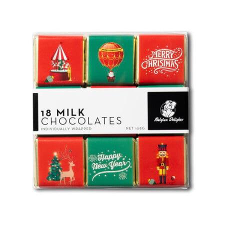 Christmas Napolitain Chocolates 108g