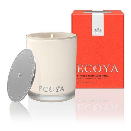 Citrus & White Magnolia Ecoya Madison Jar Candle (80 hr burn)